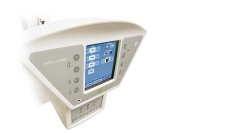 Definium 5000 product monitor